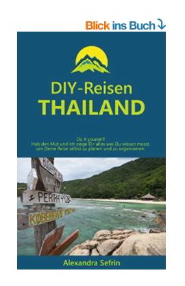 Amazon Buchtitel DIY-Reisen - Thailand