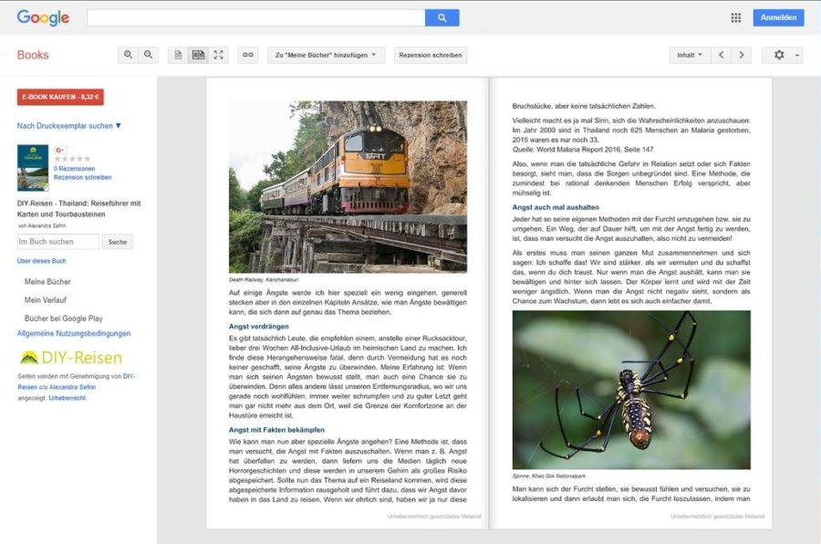 DIY-Reisen-Thailand bei GoogleBooks