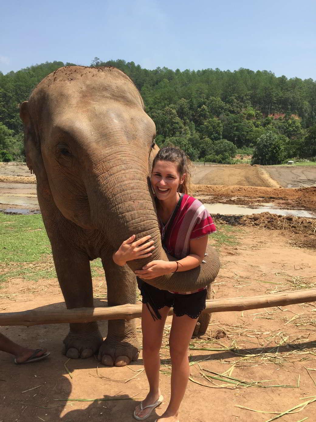 Lena in Thailand