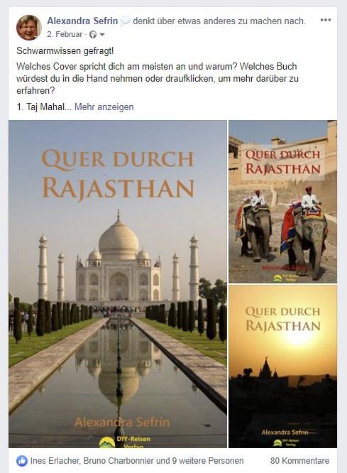 Quer durch Rajasthan: Facebook-Kommentare