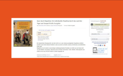 Quer durch Rajasthan bei Kindle Unlimted