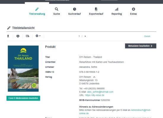 DIY-Reisen - Thailand im VLB